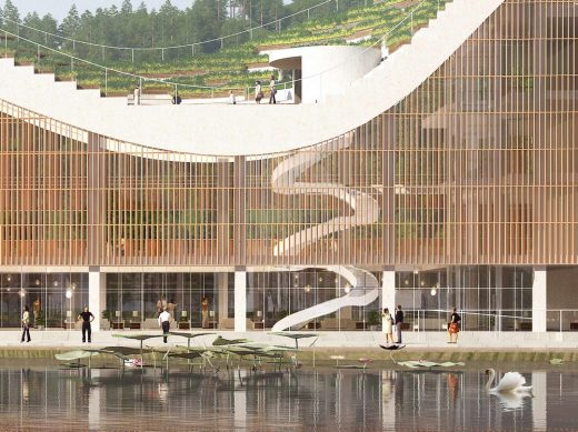 Shili Lijiang Science Promotion Building Guangdong Province