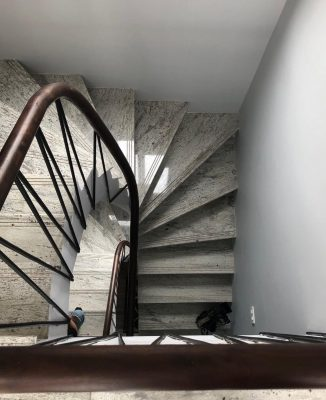 Thien Thao Building, Hanoi office stairs