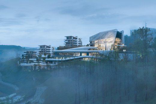 Wide Horizon Clubhouse Chongqing building China