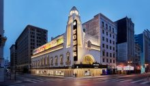 Apple Tower Theatre Downtown Los Angeles Building