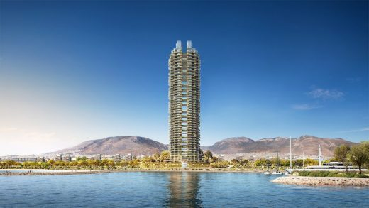 Ellinikon Marina Residential Tower Greece by Foster + Partners