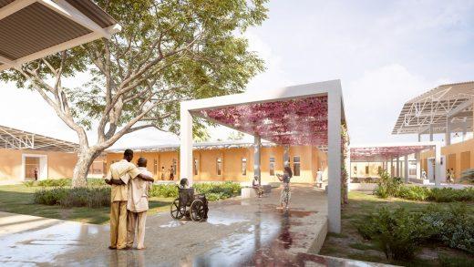 Emergency Treatment Centre Farato, Gambia building design