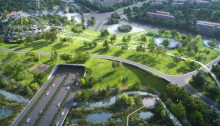Grand Central Park Masterplan Nanjing China parks - architecture news