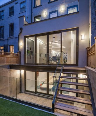 Historic Colonnade Passive Townhouse Brooklyn