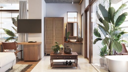 South East Asia room interior furniture