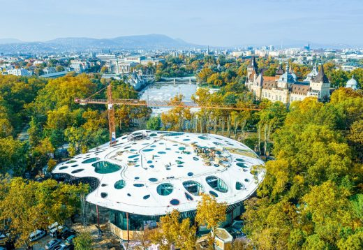 House of Hungarian Music Budapest Architecture News