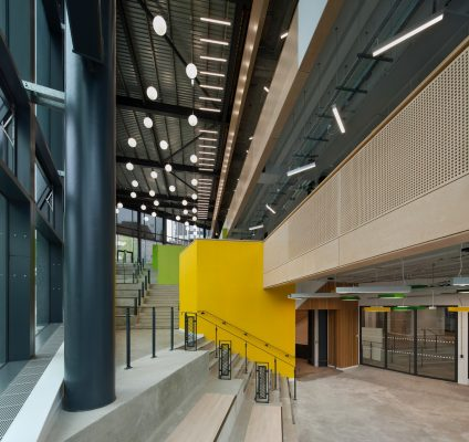 University of Strathclyde Learning and Teaching Building interior