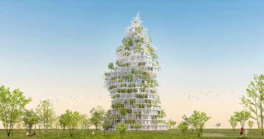 Museum for Architecture + Residences by Sou Fujimoto Architects