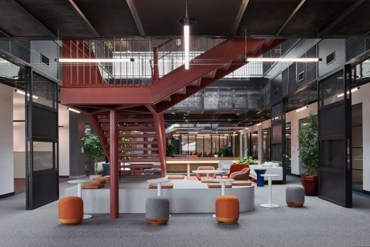 New Miral HQ Abu Dhabi office building interior