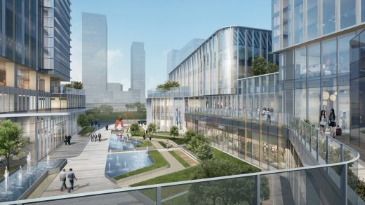 Ningbo International Trade and Exhibition Centre buildings design