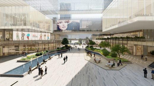 Ningbo International Trade and Exhibition Centre by RMJM RED in China