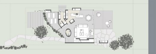 Ananda House by architects Stemmer Rodrigues plan