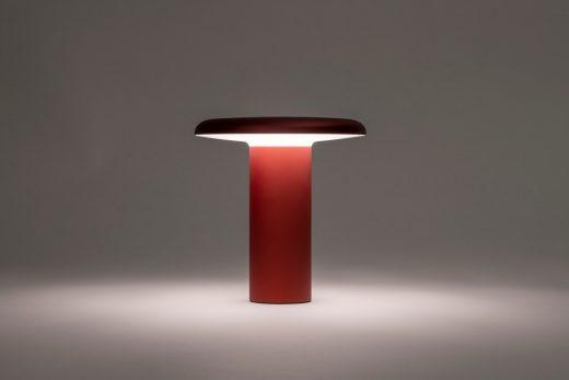Artemide Takku lamp Milan 2021 by Foster + Partners