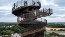 Hjemsted Observation Helix design by BIG Architects