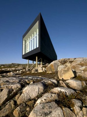 Fogo Island Studios buildings design by Canadian Architects