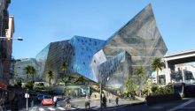 Iconic Nice buildings by Daniel Libeskind Architect