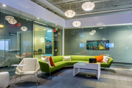 Dell Experience Lounge Texas workplace design
