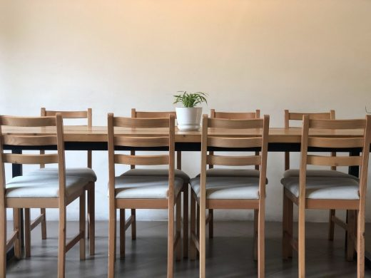 Different types of dining table materials guide