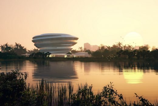 Hainan Science and Technology Museum by MAD Architects