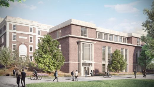 Wesleyan University building in Connecticut by Peterson Rich Office
