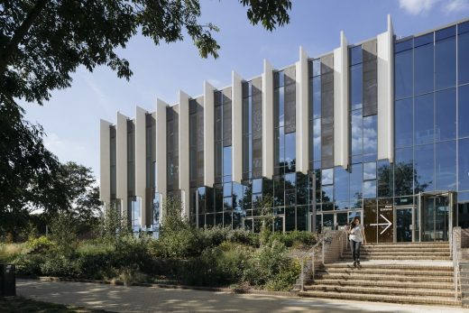 Templeman Library Canterbury design by Penoyre Prasad Architects