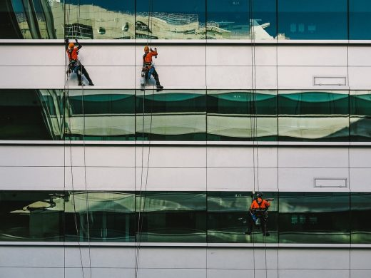 Professional window washing, spring cleaning tips