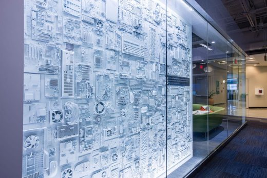 Shaping work environments for technology companies design