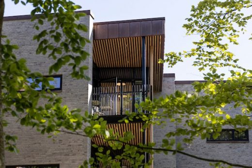 Jutland Healthcare building design by AART Architects