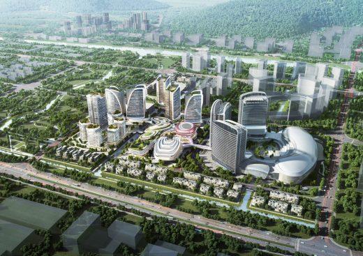 Zhuhai Novotown Hengqin Island buildings