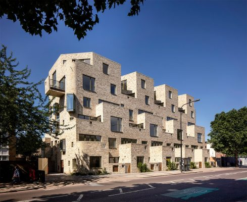 95 Peckham Road by Peter Barber Architects
