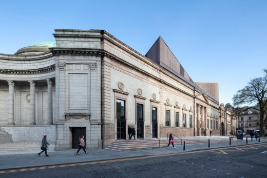 Aberdeen Art Gallery building design by Hoskins Architects