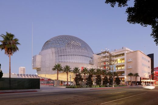 Academy Museum of Motion Pictures Los Angeles Building