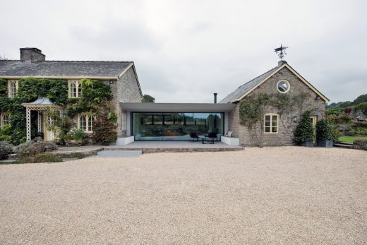 Arrow View Herefordshire house by AR Design Studio
