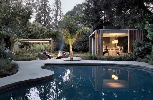New home in San Mateo by Faulkner Architects