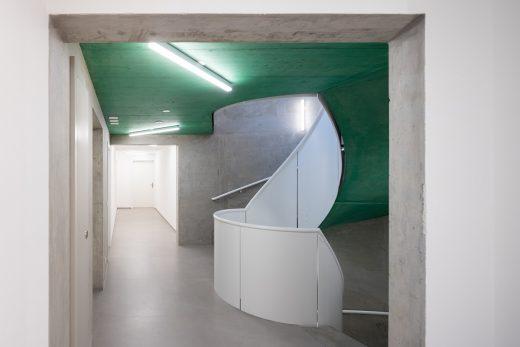 Aux Entrepôts Lausanne building by HHF Architects