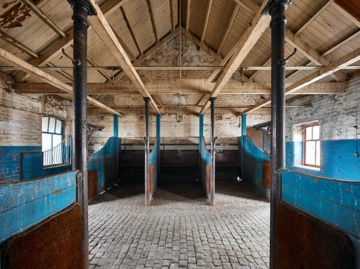Bell Street Stables Glasgow ruin building interior