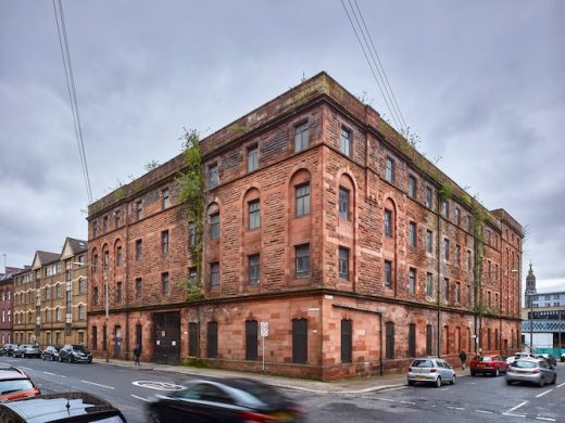 Bell Street Stables Glasgow ruin building