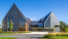 CUPACLAD 101 Natural slate rainscreen cladding system