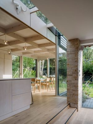 Crystal Palace home extension interior design