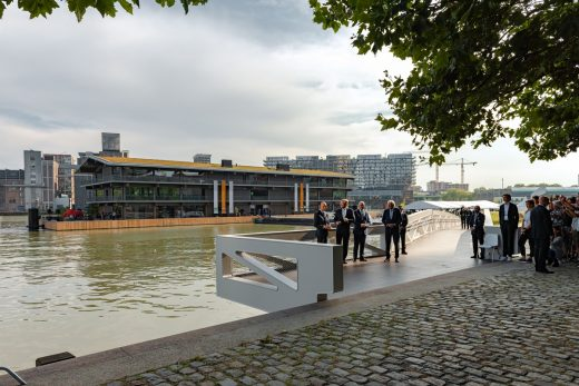 Floating Office Rotterdam Royal opening
