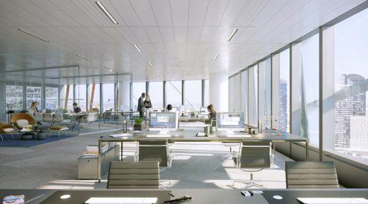 HEKLA Paris La Défense tower building design