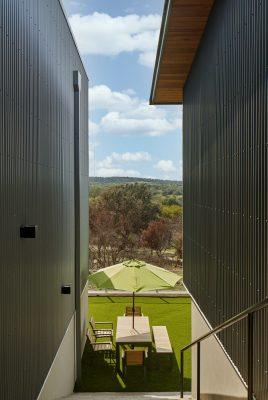 Texas Private Weekend Residence design by Dick Clark + Associates