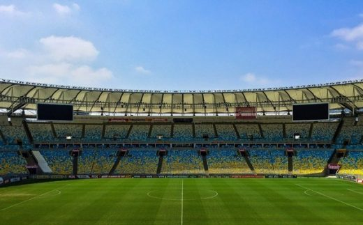 How is football stadium architecture changing?