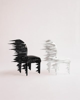 Meteor Dior Medallion Chair design by Ma Yansong
