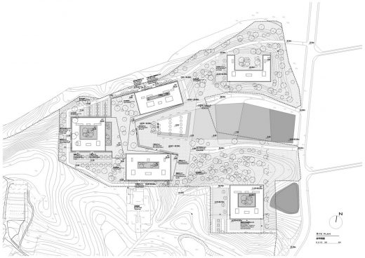 Jiangning District hospital site plan layout
