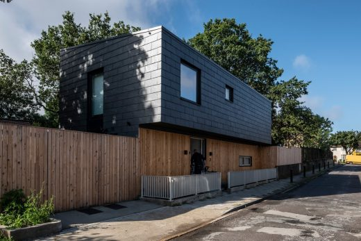 CUPACLAD Natural slate rainscreen cladding system building