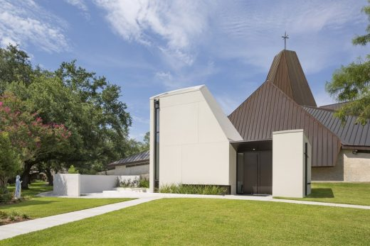 New Orleans Architecture St. Pius Chapel and Prayer Garden