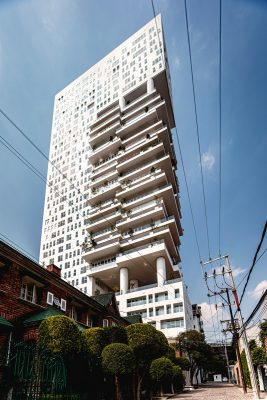 Mexican tower building design