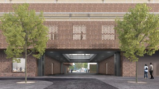 RCA New Battersea Campus, Royal College of Art London