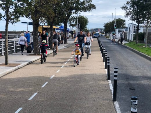 DLR C-19 Response: Placemaking - Mobility - Liveability, Dublin streetscape